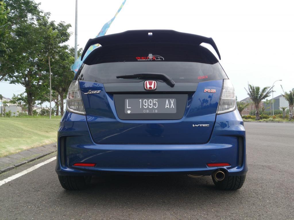 Simple Modification Blue Honda Jazz/Fit | Tupanx Blog